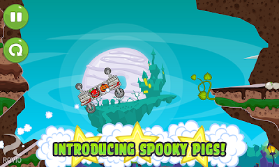 bad piggies apk introducing spooky pigs