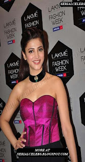 Shruti Hassan at Lakme Fasion week 2012