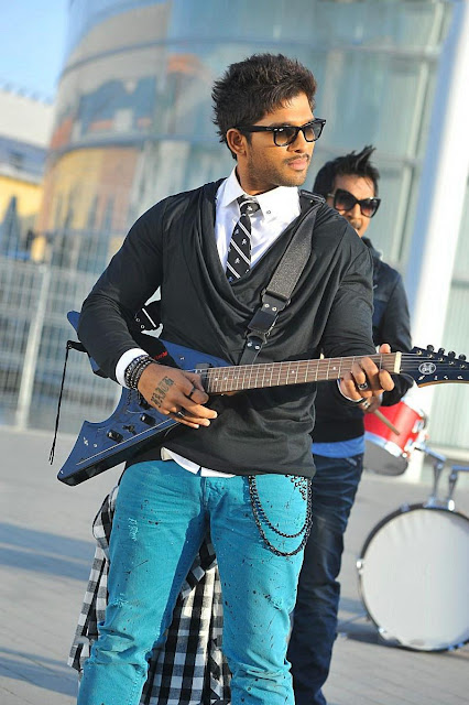 Allu Arjun latest stills