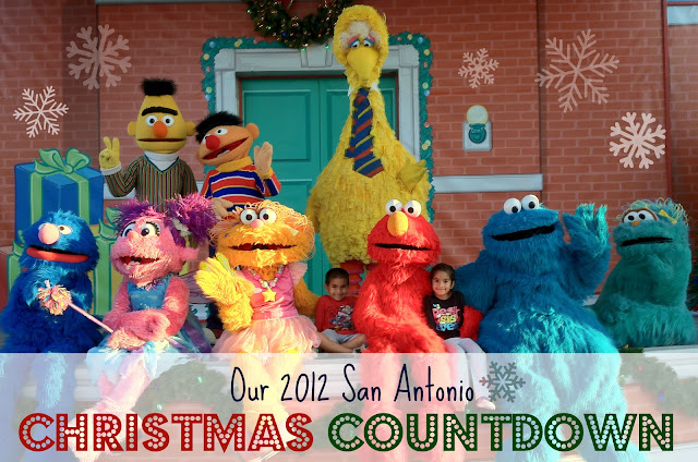 Our San Antonio Christmas Countdown - A list of holiday activities and events for the family! #holidaysa