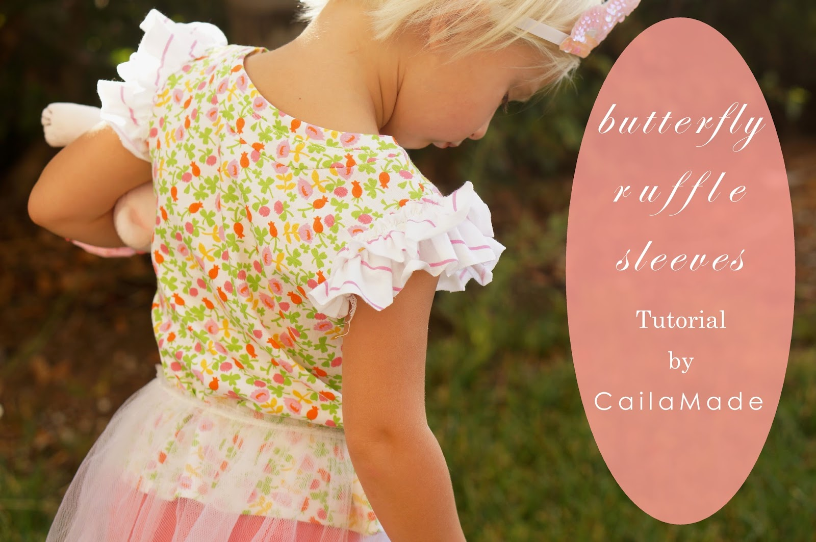 butterfly ruffle sleeve tutorial see kate sew