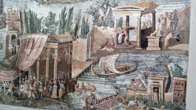 mosaico Nilotico - Museo Archeologico di Palestrina
