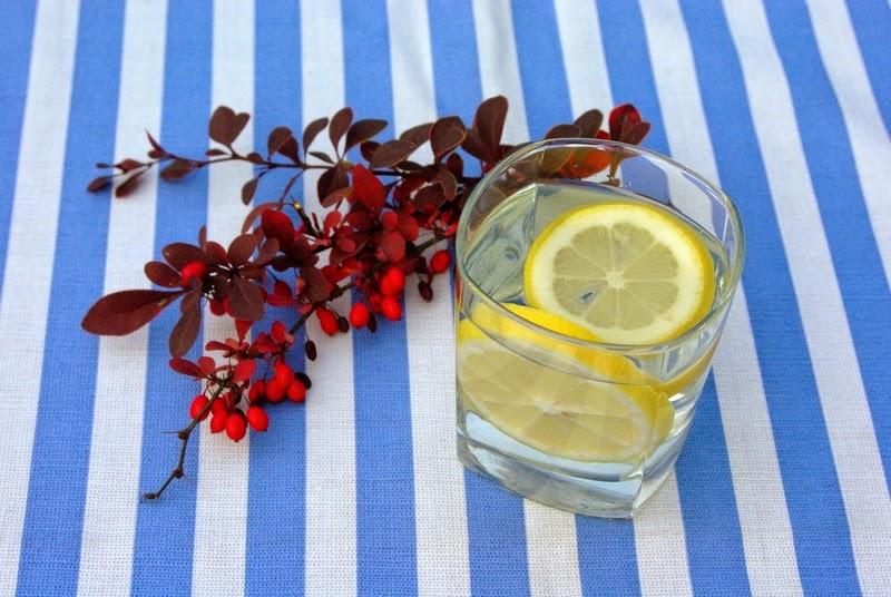 woda z cytryną fit