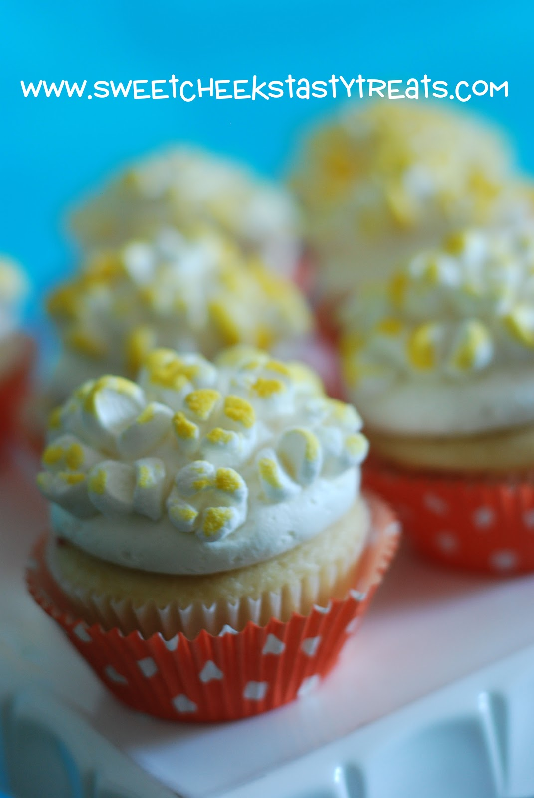 how to make popcorn cupcakes