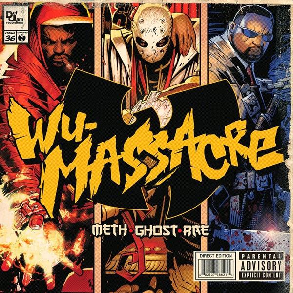 Method Man, Ghostface Killah & Raekwon - Wu Tang Presents... Wu-Massacre Cover