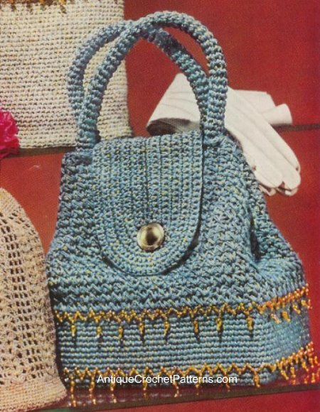 Bag Gloves Images: Free Crochet Bag Patterns