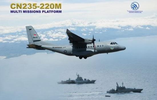 Pesawat Patroli Maritim CN235-220