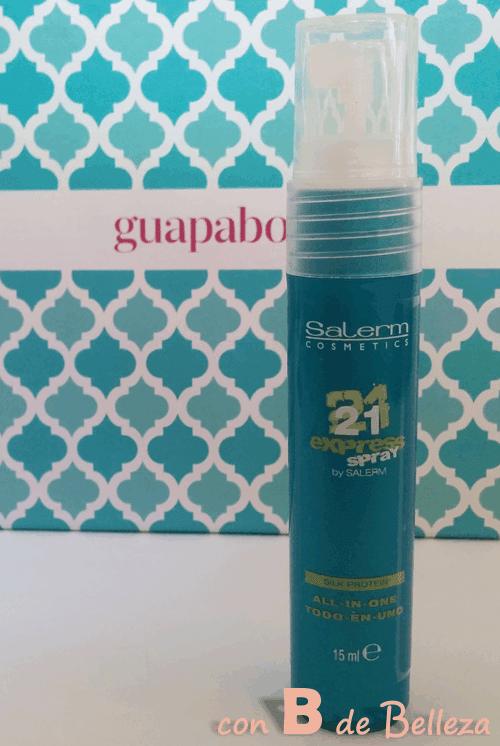 Silk protein Spray de Salerm 21