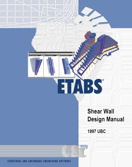 Shear Wall Design Xls : Etabs shear wall manual ubc