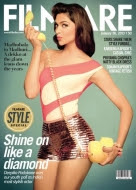 Deepika Padukone on cover of Filmfare's January 2013 issue