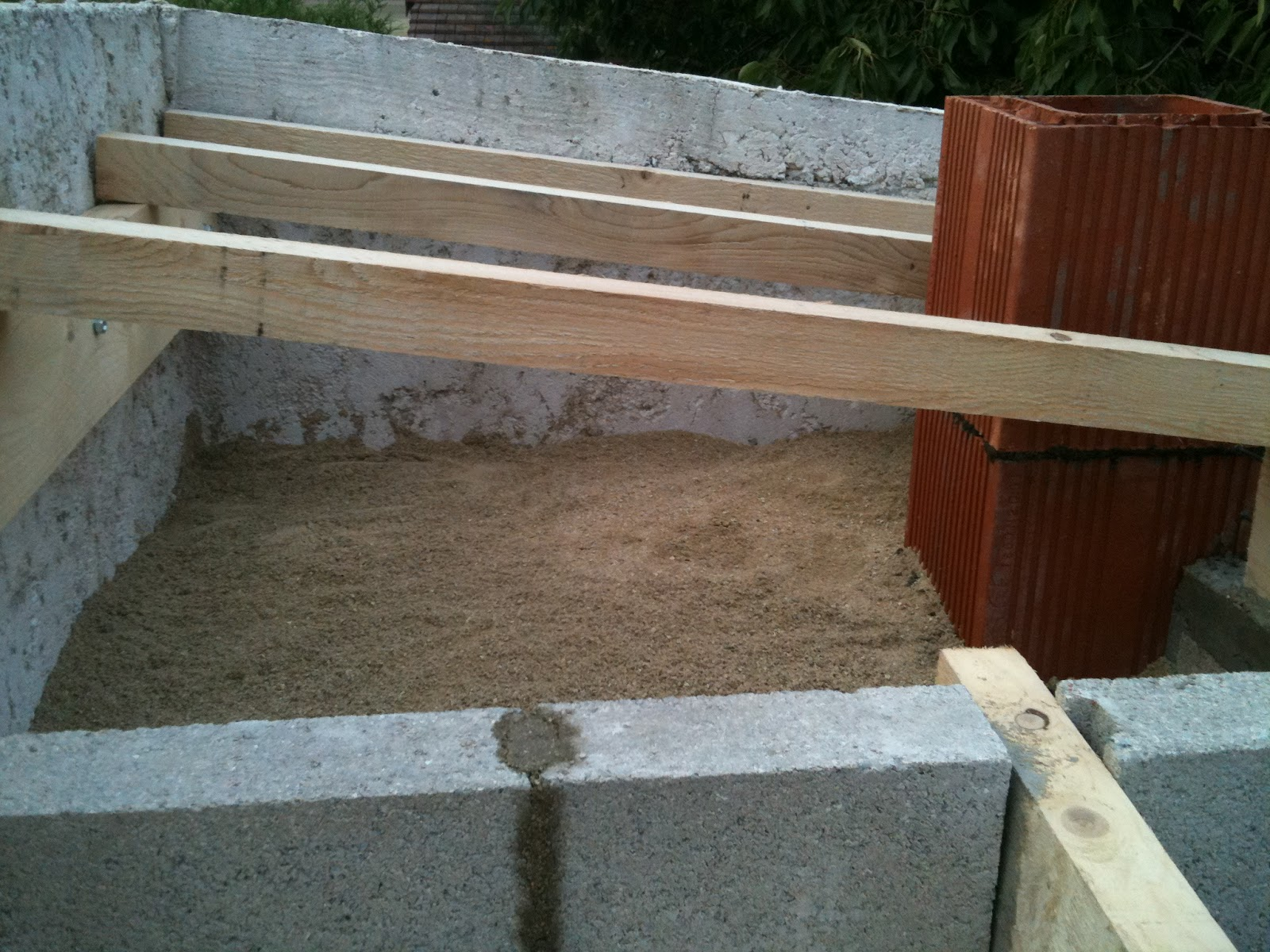 Construction four pizza isolation du four laine de roche sable et premie - Laine de roche et humidite ...