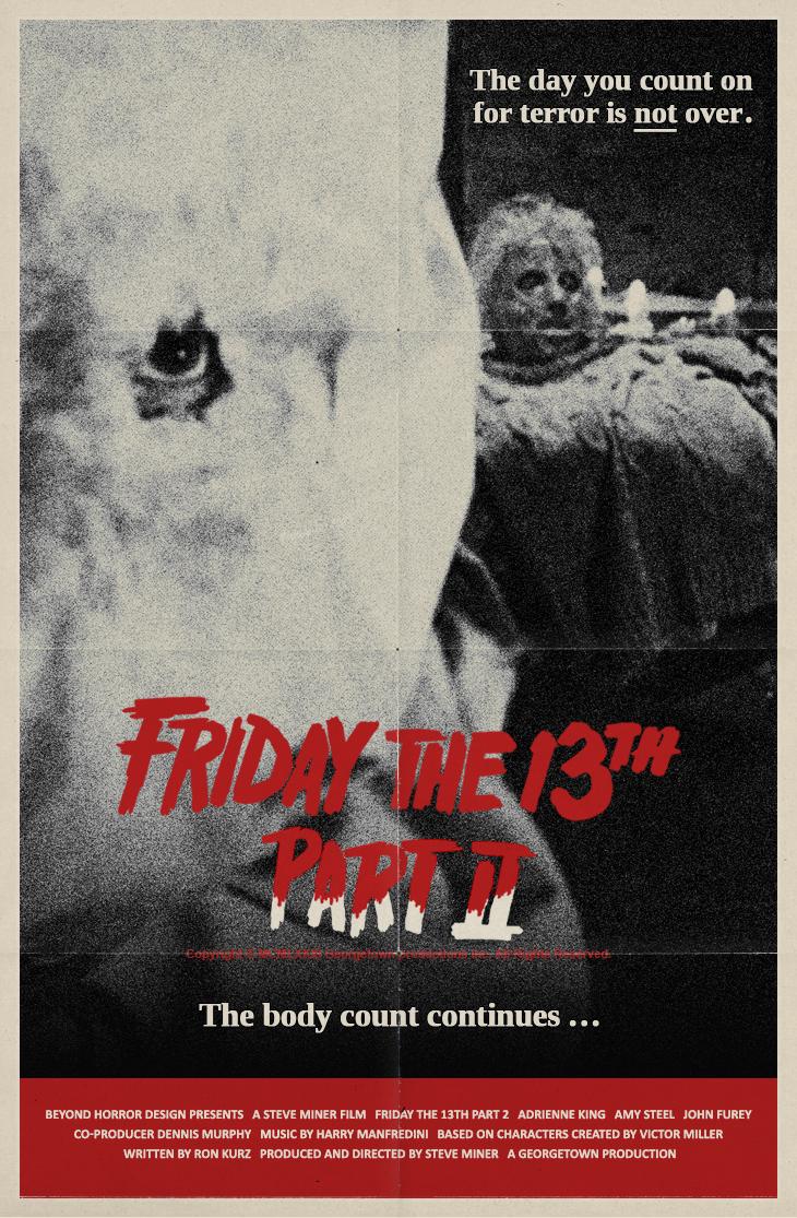 beyond horror design friday the 13th part 2 steve miner