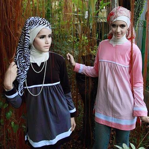 Contoh Model Kaos Remaja Muslim