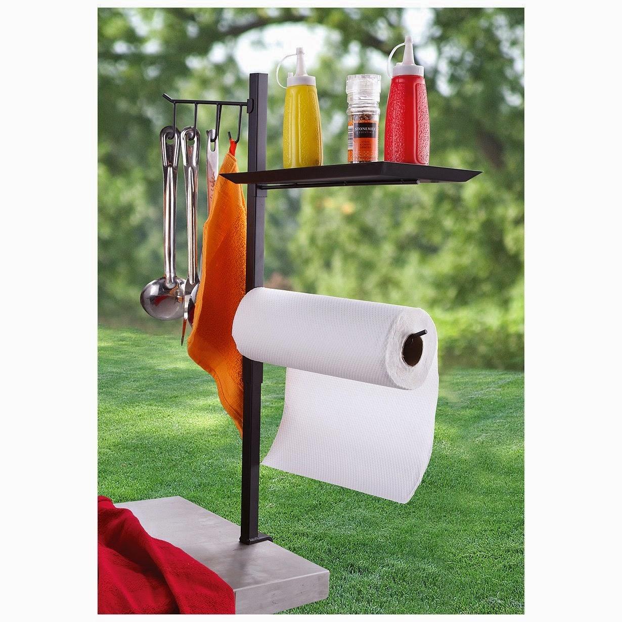 Organized Gift Idea for Father's Day - Barbecue Accessory Organizer :: OrganizingMadeFun.com