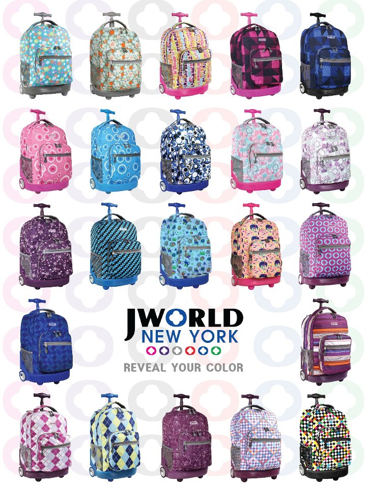 Jworld Backpacks Rolling - Backpack Her