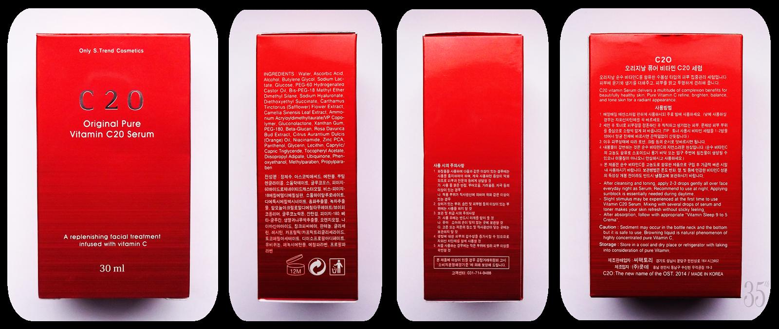 OST Original Pure Vitamin C20 Serum