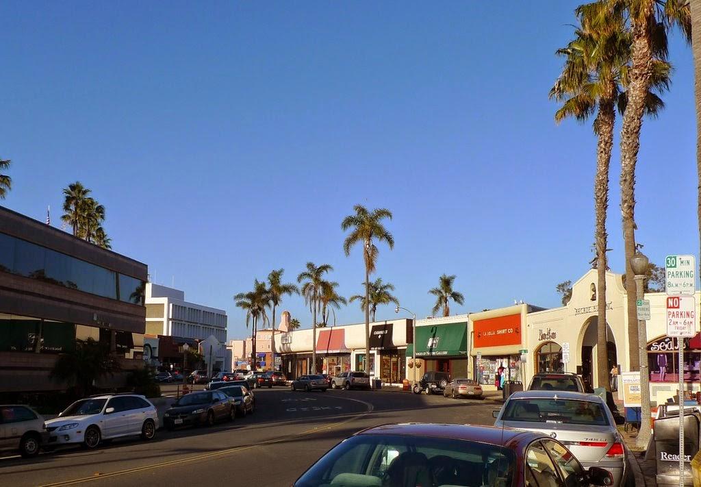 La Jolla em San Diego   Prospect Street