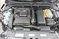 The 1.4-liter turbocharged TSI engine