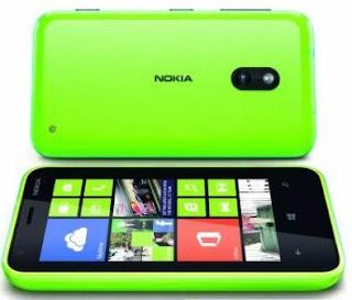Harga NOKIA Lumia 620 Spesifikasi 2012