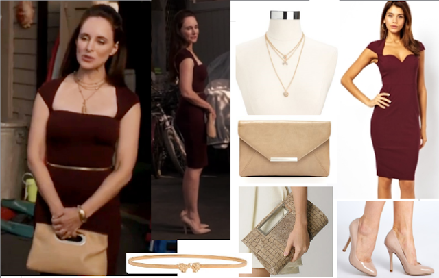 Victoria Grayson - Revenge - Season 3 Episode 7 - copycat queen v - celebrity fashion - television