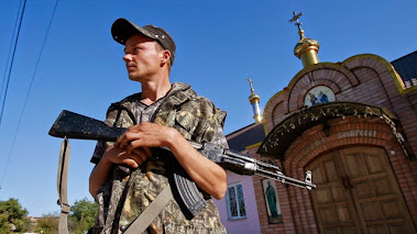 EASTERN UKRAINE - SEPARATIST REBEL