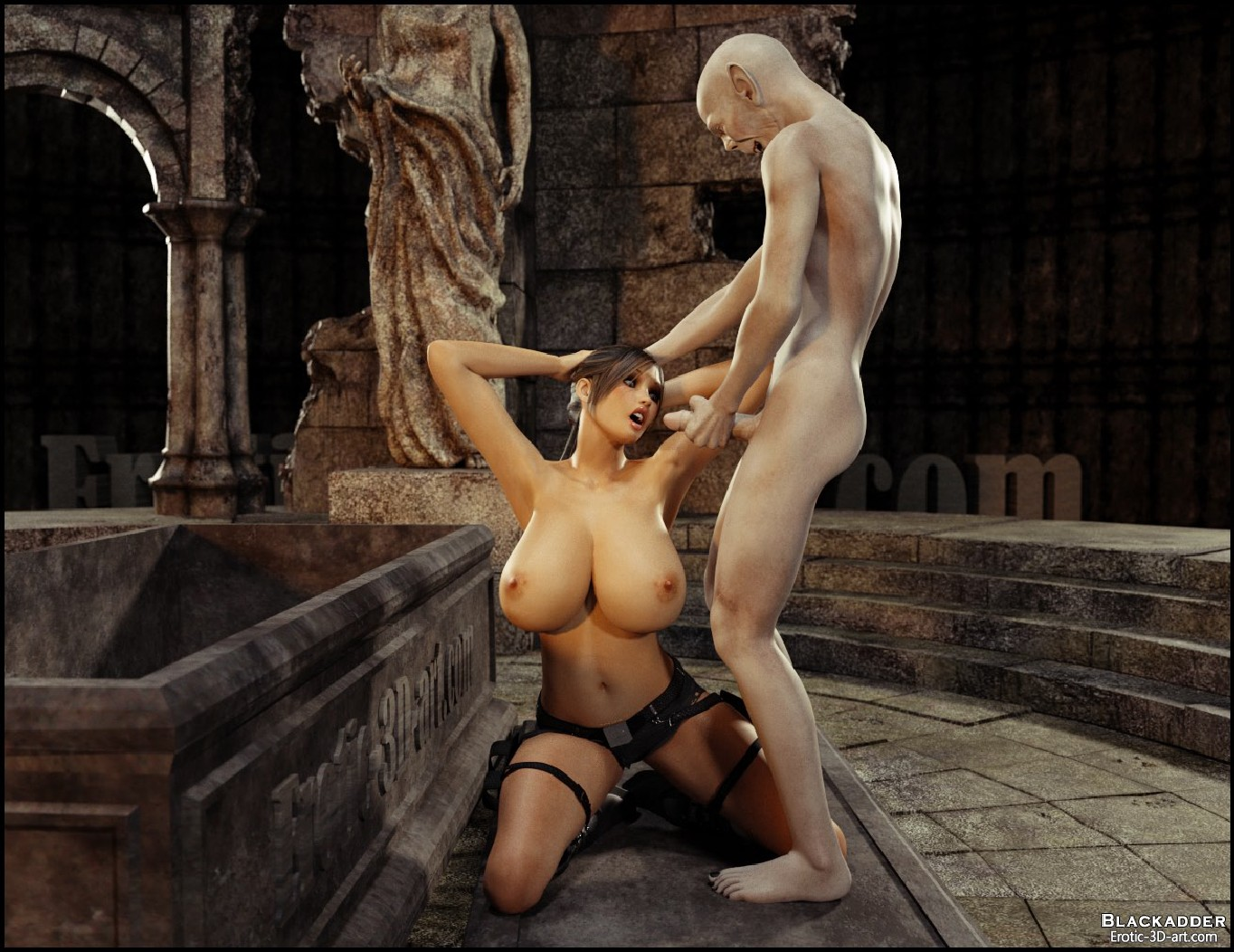 Lara croft fuck by monster 3dsexsins nude girls