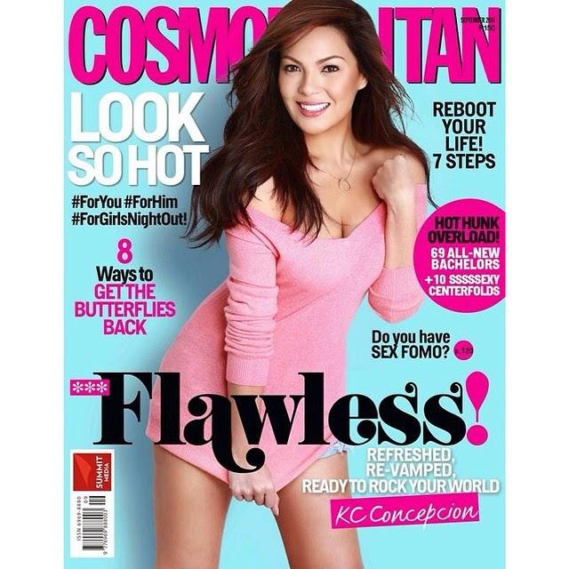 KC Concepcion covers Cosmo PH Sept. 2014