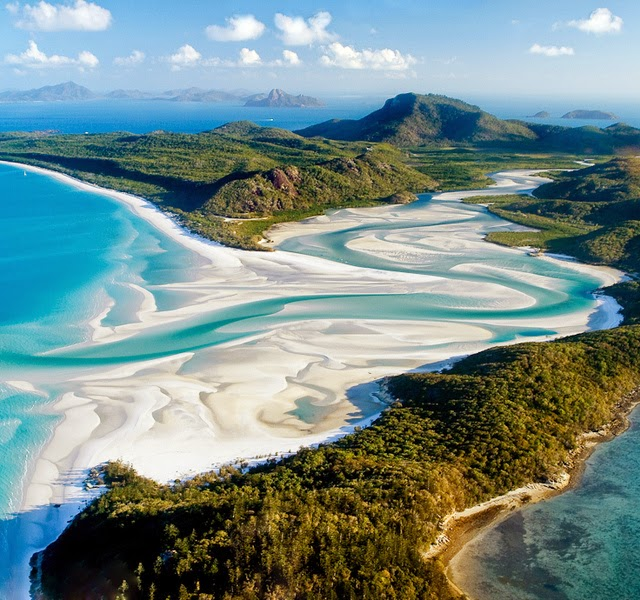 La playa de Whitehaven – Australia
