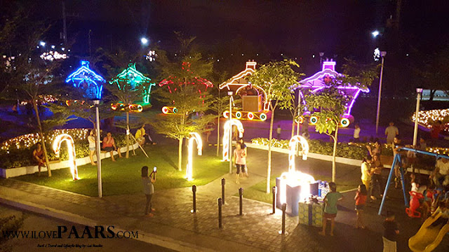 Chistmas Light Show at Lancaster Cavite