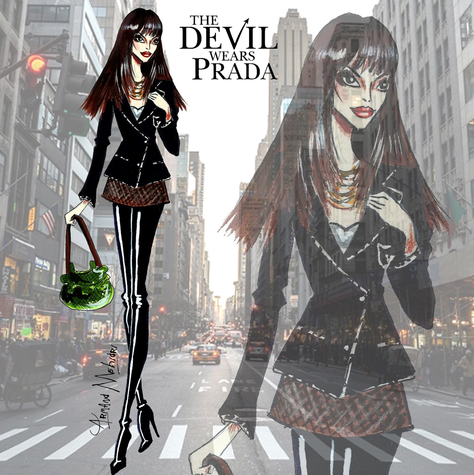 andy outfits from devil wears prada