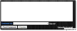 comment box theme
