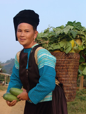 Vietnamese Sapa mountain villages