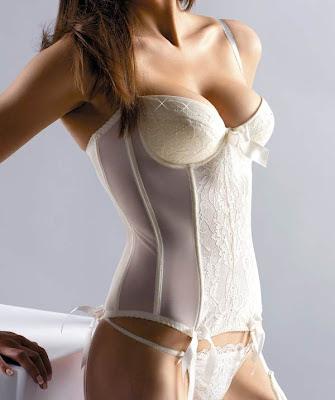Bridal Underwear - The Crystal Basque