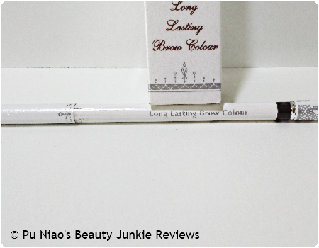 Erabelle Long Lasting Brow Color