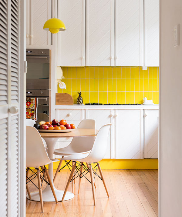 Kitchens that pop with color easy home decorating ideas for Pop design for kitchen
