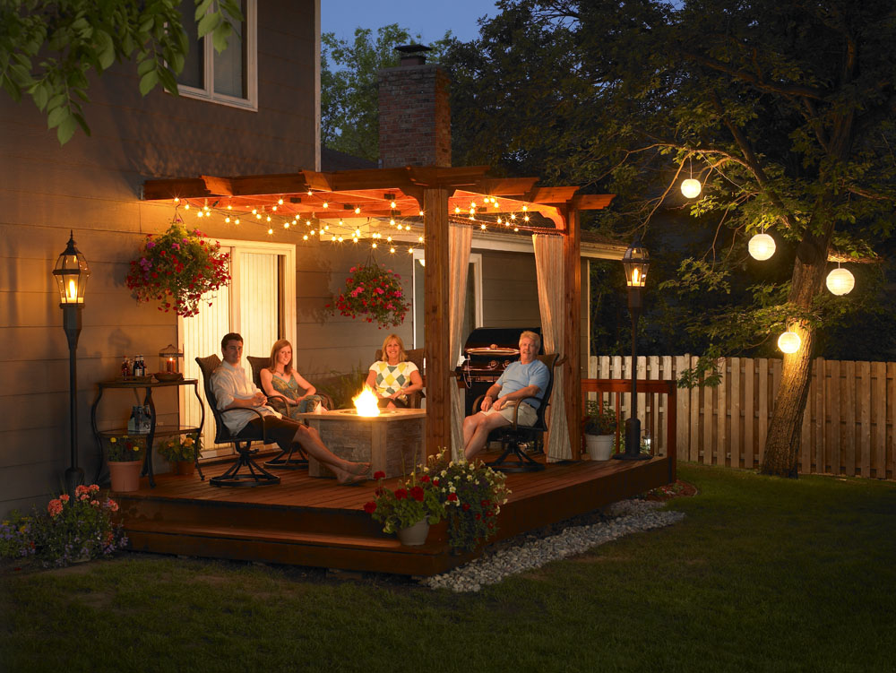 Stallings sheet metal outdoor rooms for Outside room