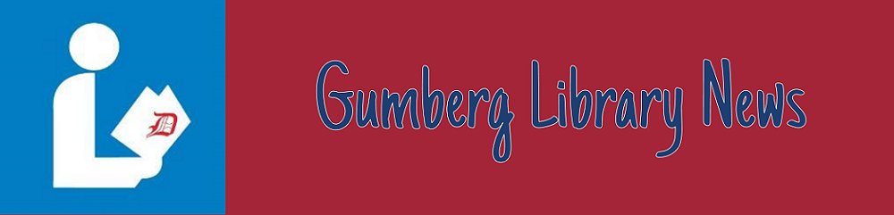 Gumberg Library News
