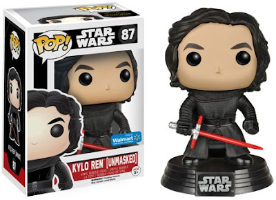 Walmart Exclusive Star Wars: The Force Awakens Unmasked Kylo Ren Pop! Vinyl Figure by Funko
