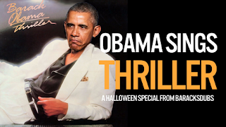 Barak Obama nous chante Thriller de Michael Jackson