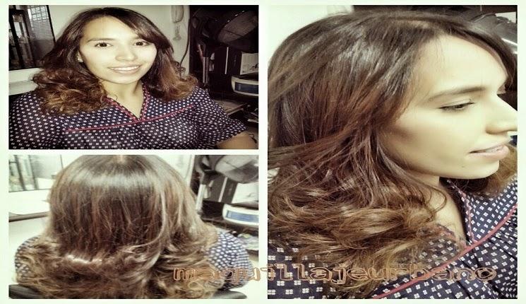 cabello con ondas