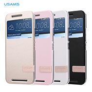เคส-HTC-One-M9-เคส-M9-รุ่น-เคส-HTC-One-M9-เคสฝาพับ-ของแท้จาก-USAMS-รับสายได้โดยไม่ต้องเปิดฝาพับ