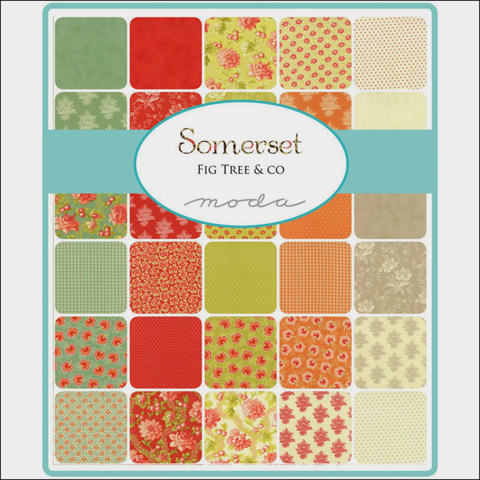 Moda SOMERSET Quilt Fabric by Fig Tree Quilts for Moda Fabrics