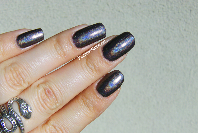 China Glaze Galactic Gray Swatches
