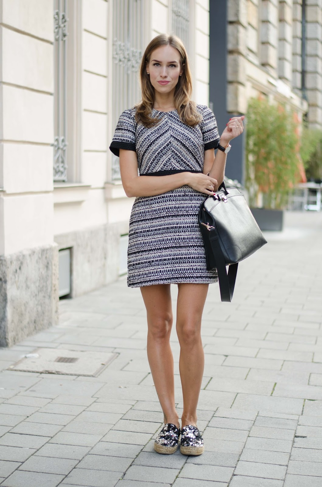 kristjaana mere mini dress fall outfit munich street style