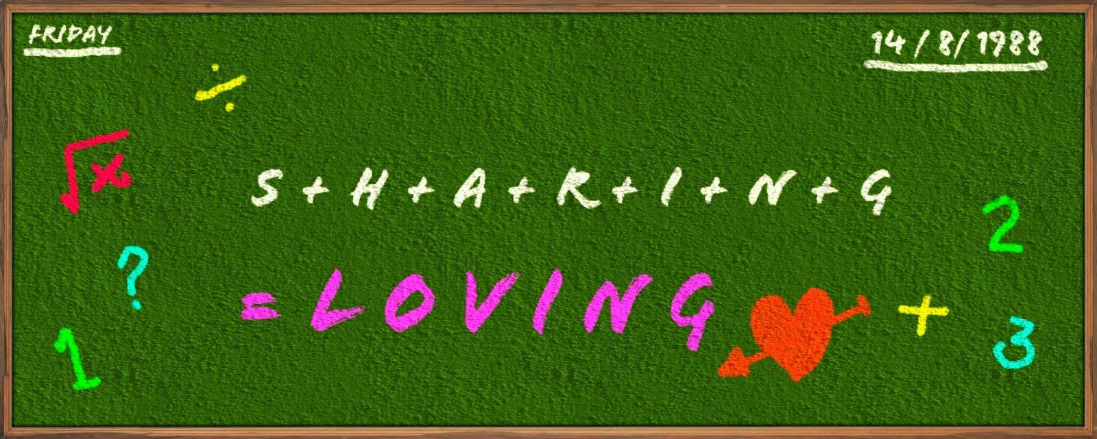 sharing is loving