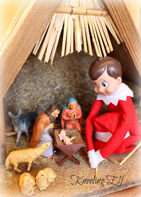 Celebrating the real reason for the season with your elf-on-the-shelf