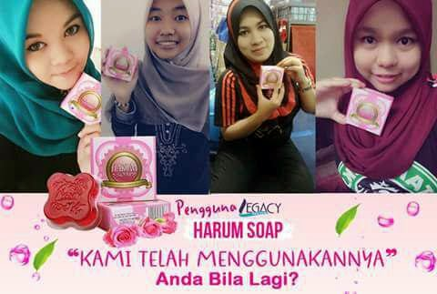 testimoni harum soap