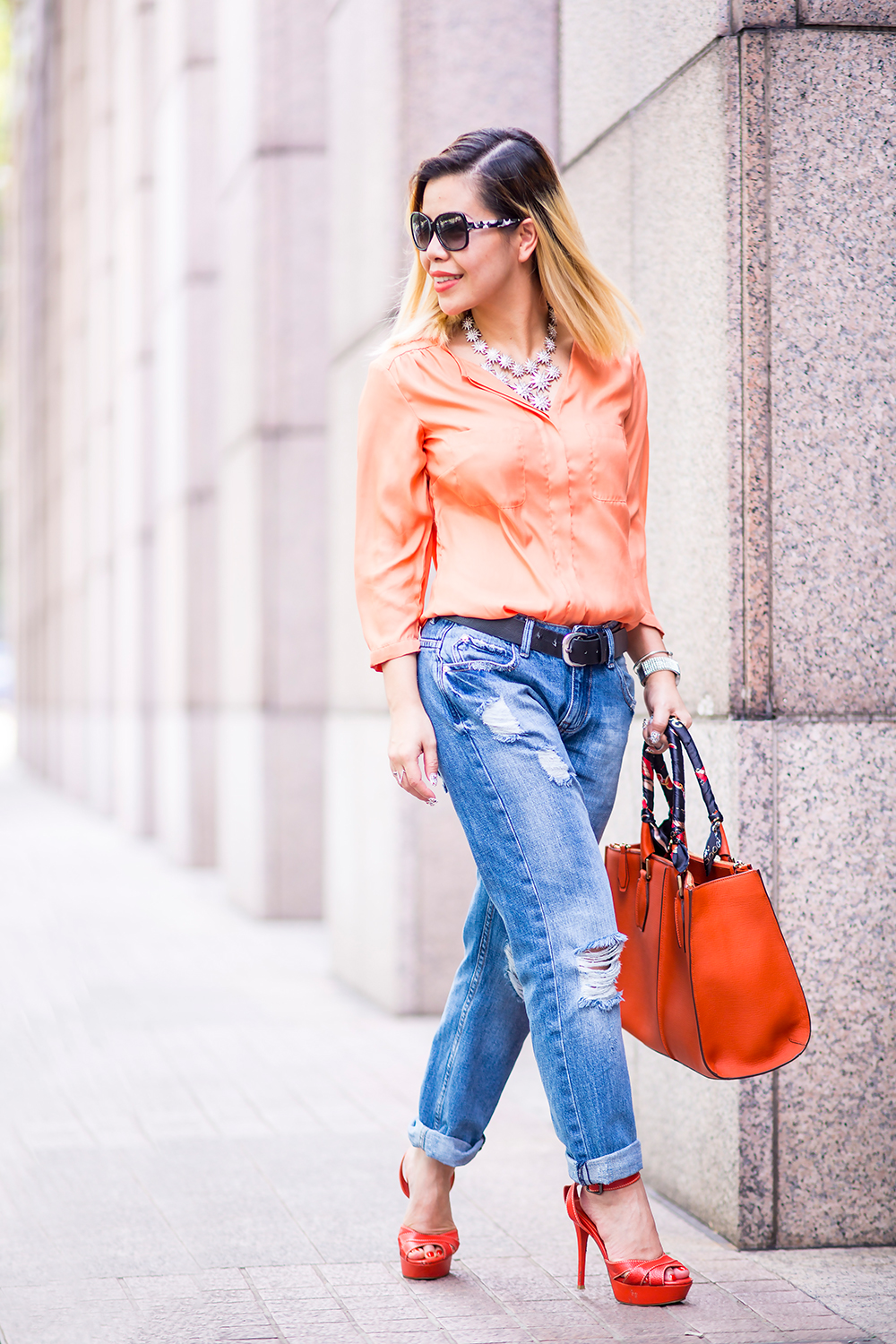 CrystalPhuong- Singapore Fashion Blog- A girl and her boyfriend jeans