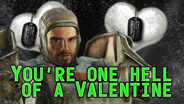 You're one hell of a valentine
