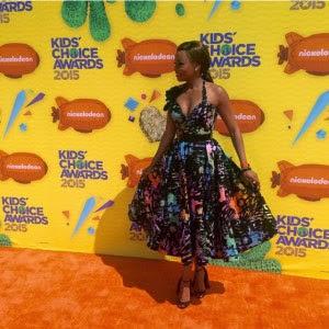 Bonang Matheba wins Nickelodeon Kids Choice Award